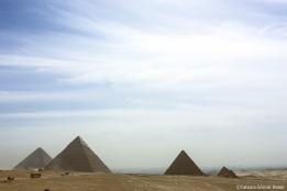 Las Pirámides de Giza.