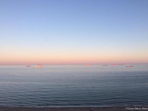 Atardecer desde El Balcon del Mediterraneo