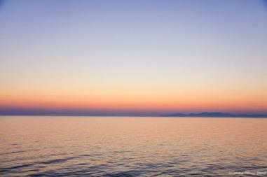 Atardecer desde Santorini