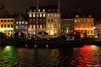 Nyhavn de noche