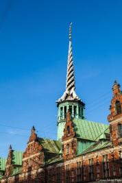 Torre del edificio de la bolsa