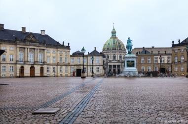 Plaza octogonal de Amalienborg